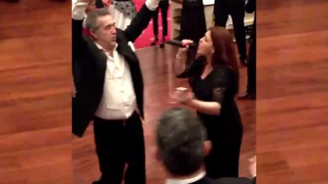 Gigi Becali a făcut show la nunta Teodorei pe melodiile machedonești. VIDEO