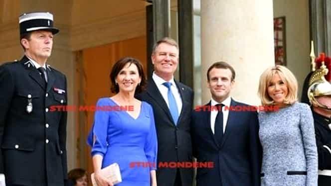 Ce ținute a purtat Carmen Iohannis, la vizita oficială din Franța! Și-a păstrat un vechi obicei. FOTO