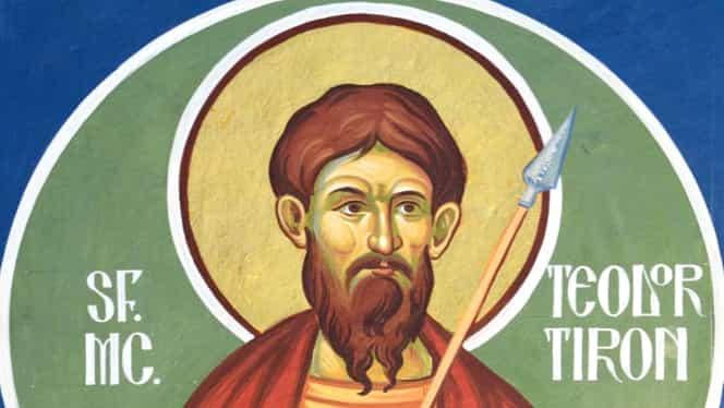 Calendar ortodox 25 februarie: Este pomenită minunea grâului fiert, făcută de Sfântul Mucenic Teodor Tiron