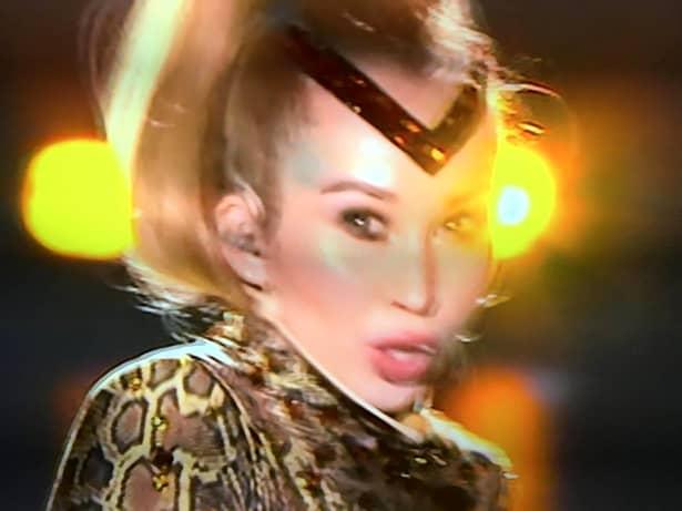 Xonia, apariție spectaculoasă la Eurovision 2019. Cum s-a îmbrăcat blonda. Foto