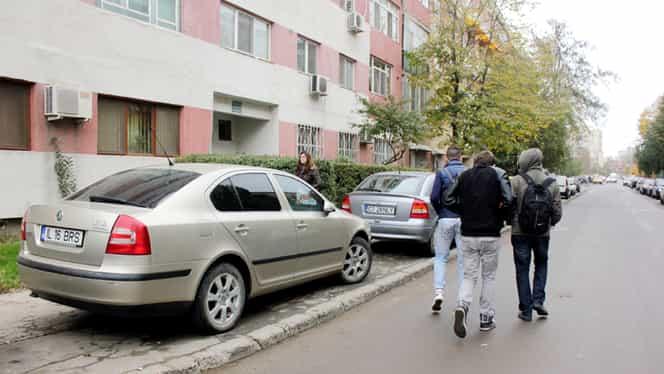 Cum au devenit trotuarele locuri de parcare! Poliția amenință cu amenzi serioase