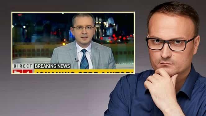 Prezentatorul de știri Alex Ferariu, out de la B1 TV după ce în presă s-a scris de legătura lui cu Alexandru Cumpănașu