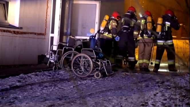 Incendiu puternic în Polonia! Bilanțul este înfiorător: 4 morți și cel puțin 22 de răniți