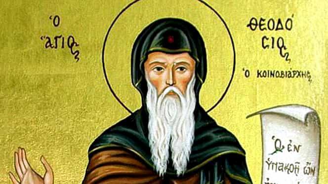 Calendar ortodox, 11 ianuarie: pomenirea cuviosului părinte Teodosie
