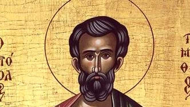 Calendar ortodox 22 ianuarie! Este sfântul apostol Timotei, ucenicul sfântului apostol Pavel