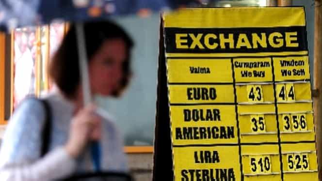 Refuzul lui Iohannis aruncă în aer cursul valutar. Euro creşte la 4,5363 lei, dolarul urcă la 4,3397