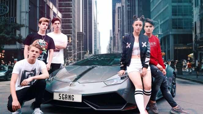 Cine sunt tinerii de la 5GANG, trupa românească cu milioane de vizualizări pe Youtube!