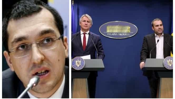 """Vlad Voiculescu, mesaj tranșant pentru Teodorovici și Vâlcov: """"Doi clovni, groparii economiei românești"""""""