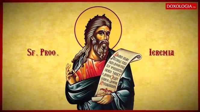 Sfântul Prooroc Ieremia, prăznuit la data de 1 mai!