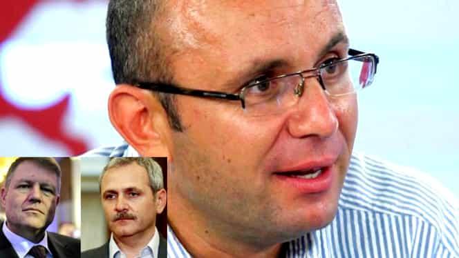 """Cozmin Gușă, declarații uluitoare: """"Există o înțelegere între Dragnea și Iohannis"""""""