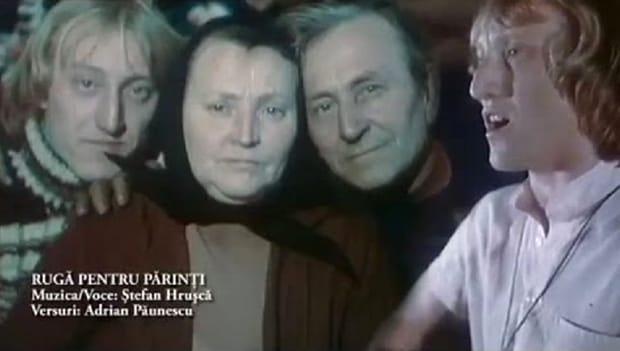 """Ștefan Hrușcă adevenit cunoscut datorită impresionantei sale creații """"Rugă pentru părinți"""", pe versurile lui Adrian Păunescu"""