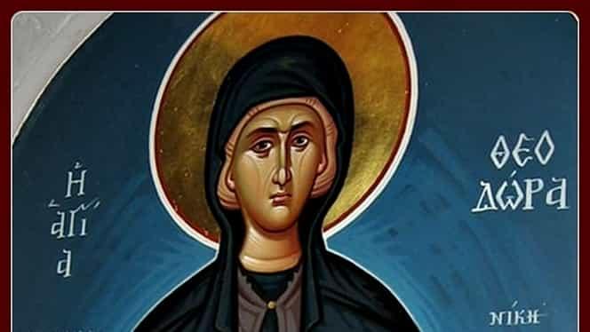Calendar ortodox, 11 septembrie: pomenirea Maicii Teodora din Alexandria