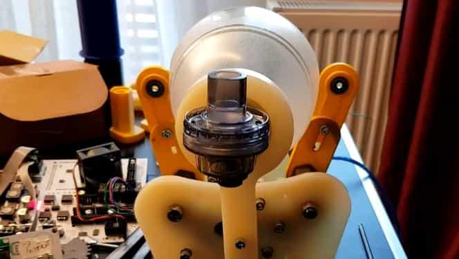 Ventilator mecanic proiectat în România! Aparatul a trecut de primul test de funcționare