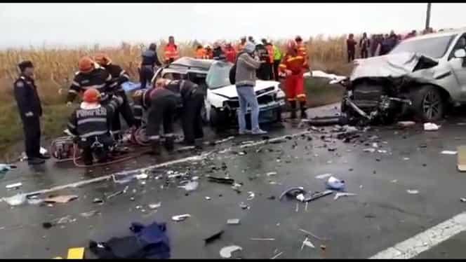 Accident grav în județul Iași, la Bălțați. Patru oameni au murit și alți 2 au fost răniți – UPDATE VIDEO