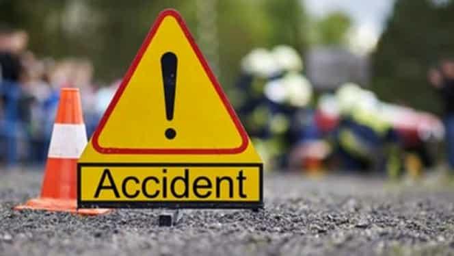 Accident înfiorător în județul Cluj! Șoferul a fost proiectat în afara vehiculului