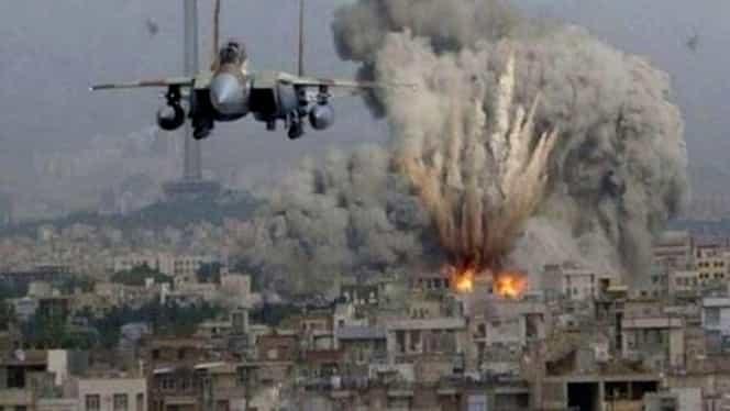 Familie întreagă ucisă de raiduri aeriene rusești în Siria. Cinci civili au fost uciși