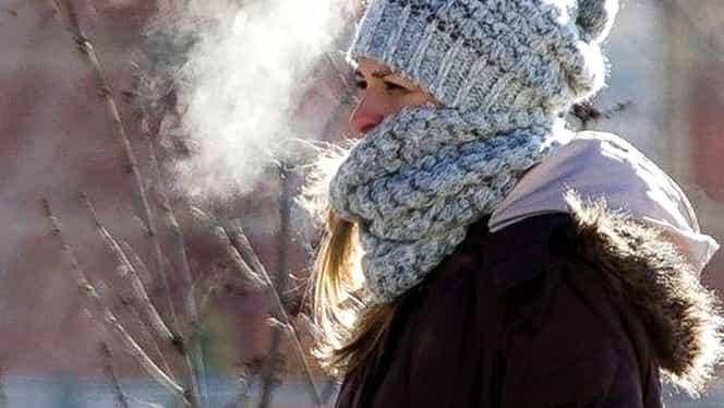 Prognoza meteo 9 ianuarie! Temperaturile scad brusc! Un val de ger se abate peste România!