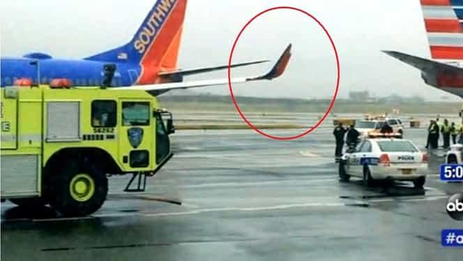 Două avioane pline cu pasageri s-au ciocnit pe unul dintre cele mai mari aeroporturi din lume!