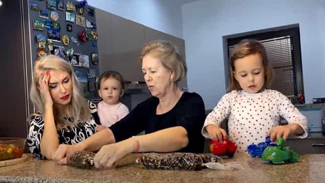 Andreea Bălan, mama și fetele ei, idei de bucătăreală pe timp de pandemie – Video