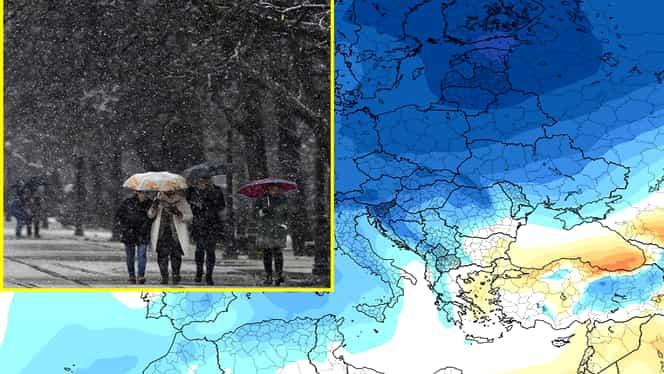 De când ajunge aerul polar în România! Temperaturi ridicate până miercuri