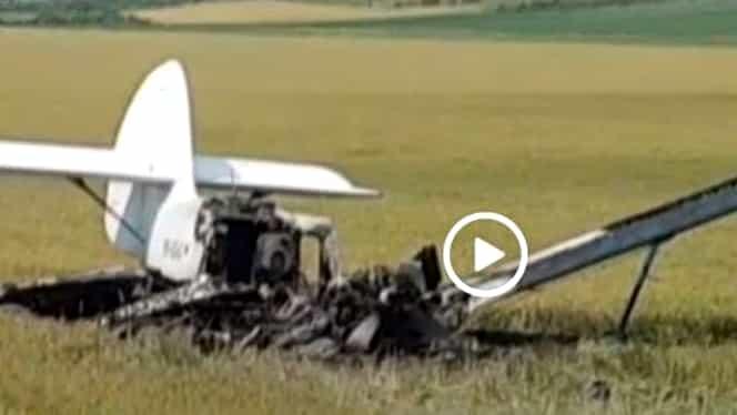 Un avion a aterizat forțat în Galați