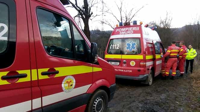 """Accident rutier în Argeș, trei tineri au fost răniți: """"Nu a păstrat distanţa şi a intrat în coliziune cu un autoturism"""""""