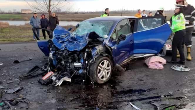 Accident grav pe E85. A fost activat planul roşu de intervenţie. Sunt 3 morți și mai mulţi răniţi. Reacţia lui Titi Aur UPDATE