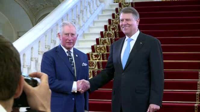 Klaus Iohannis, gafă de proporții la întâlnirea cu Prințul Charles