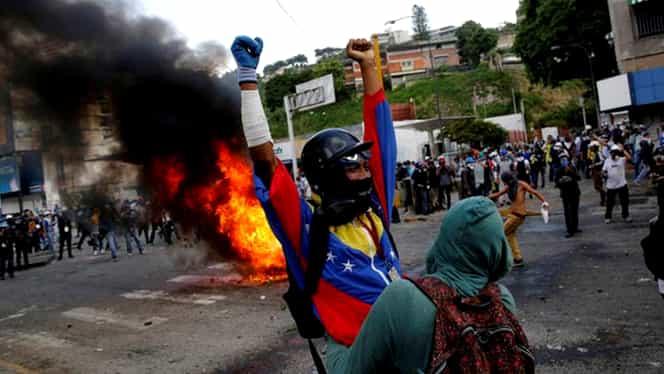Ce se întâmplă în Venezuela! Criză politică: SUA și Rusia, poziții diametral opuse