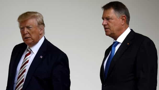 Klaus Iohannis va avea la Londra un dineu cu Donald Trump și cu liderii statelor din flancul estic al NATO
