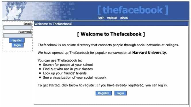 Facebook împlinește 15 ani! Cum arăta rețeaua de socializare, la început