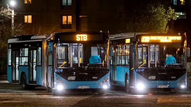 Scandal la STB! Șoferii s-au revoltat după ploaia înghețată din București