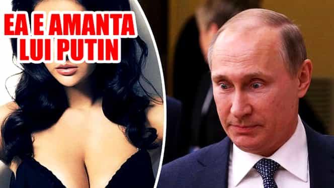 FOTO incendiar! Ea e AMANTA lui Vladimir Putin! Cel mai TEMUT om al planetei SE IUBEŞTE cu Miss Aprilie!