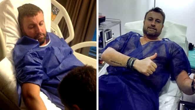 Cătălin Botezatu, operat timp de șase ore. Intervenția a avut succes. Starea actuală a designerului