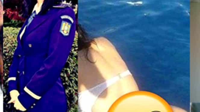 """POLIŢISTĂ DIN ORĂŞTIE, imagini interzise pe net!!  """"Orice femeie trebuie să facă…"""""""