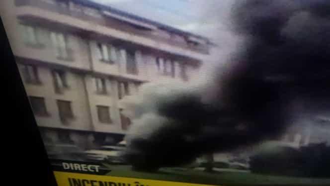 Incendiu în subteran pe bulevardul Timișoara, din Capitală! Fumul negru încurcă circulația UPDATE: Pompierii au reușit să stingă incendiul