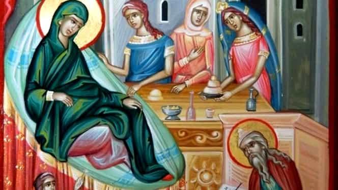 Calendar Ortodox duminică, 8 septembrie. Este prăznuită Nașterea Maicii Domnului