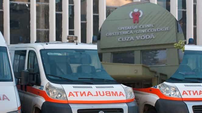 O femeie din Iași, ce născuse de trei zile, s-a aruncat de la etajul patru al maternității. Pacienta a decedat