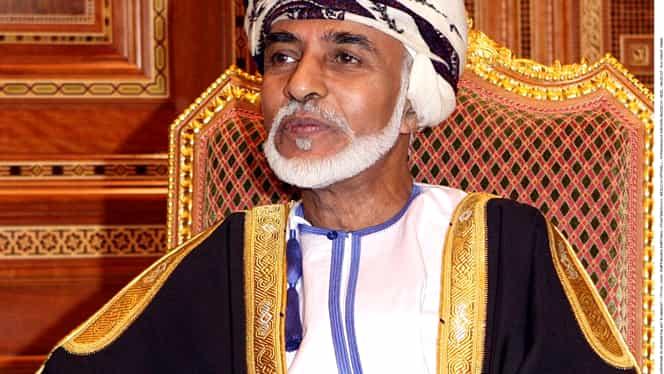 Doliu în Oman! Sultanul Qaboos a murit după 50 de ani de domnie! Era cel mai longeviv conducător din lumea arabă