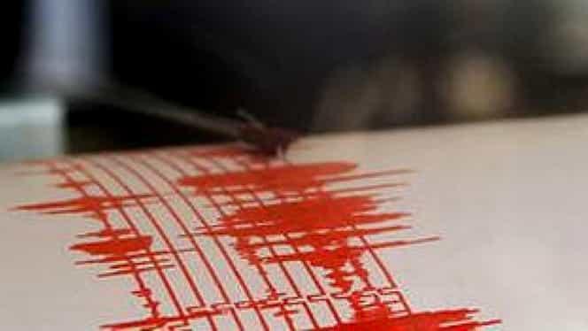 Un cutremur de 3,9 pe scara Richter s-a produs în Vrancea