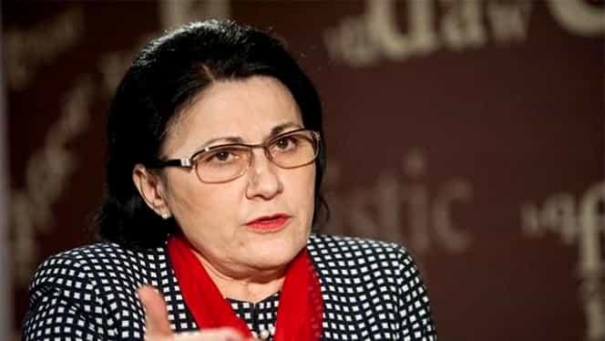 Ecaterina Andronescu vrea să combată gripa în şcoli! Sfatul ministrului după ce bilanțul a ajuns la 23 de morți