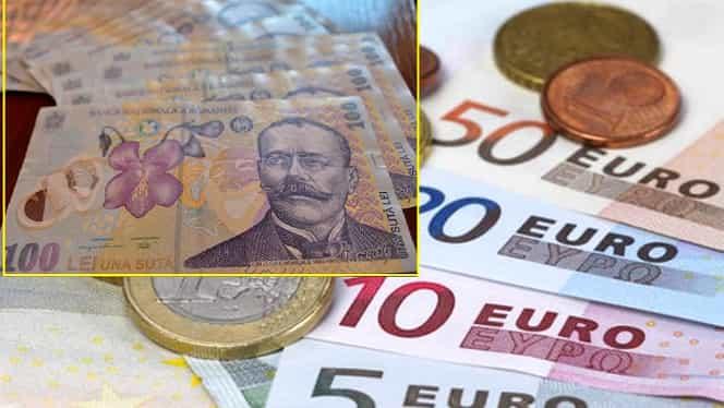Curs valutar BNR azi, 23 decembrie 2019. Cotațiile pentru euro, dolar și lira sterlină
