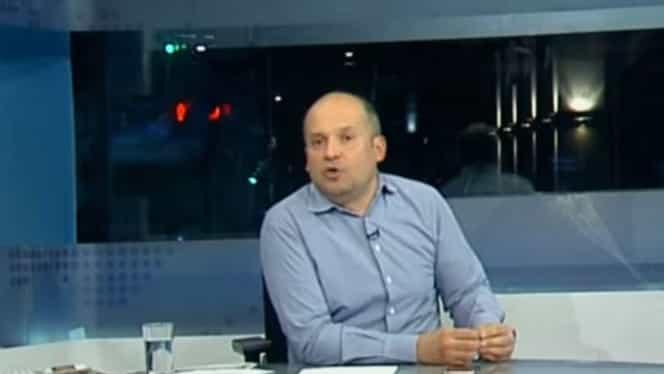 """Radu Banciu, critici dure la adresa jurnaliștilor care nu vor scutire de impozit pentru meseria lor! """"Tolontan, CTP, Cristoiu, oameni cu leafă mare, nababi"""""""