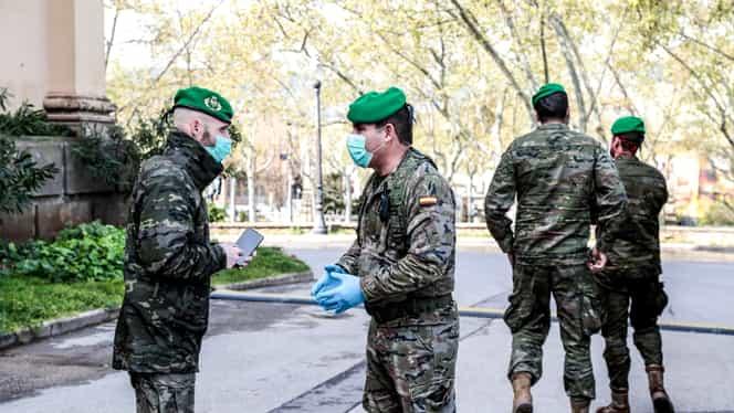 Armata din Spania a găsit cadavre abandonate în azilurile de bătrâni. Procuratura a deschis o anchetă