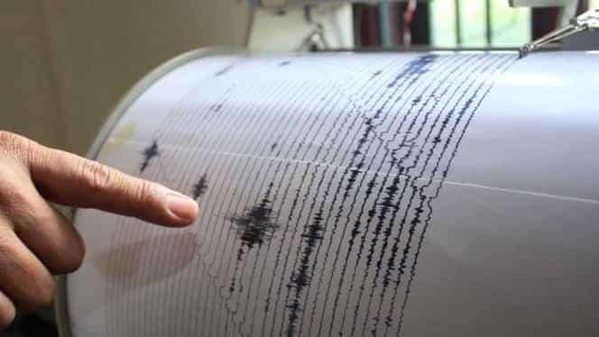 Cutremur cu magnitudinea de 3,4 în județul Buzău
