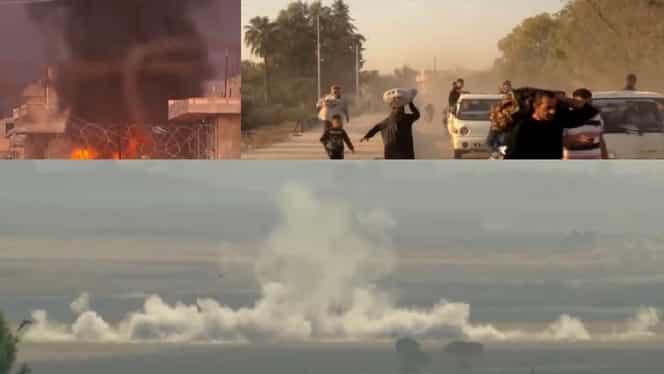 Ofensiva militară a Turciei în Siria s-a soldat deja cu minimum 18 morți. UE îi cere lui Erdogan să oprească bombardamentele