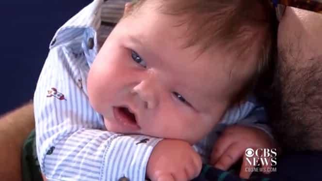 Cum arată bebeluşul care s-a născut cu o greutate de 7 kilograme. FOTO