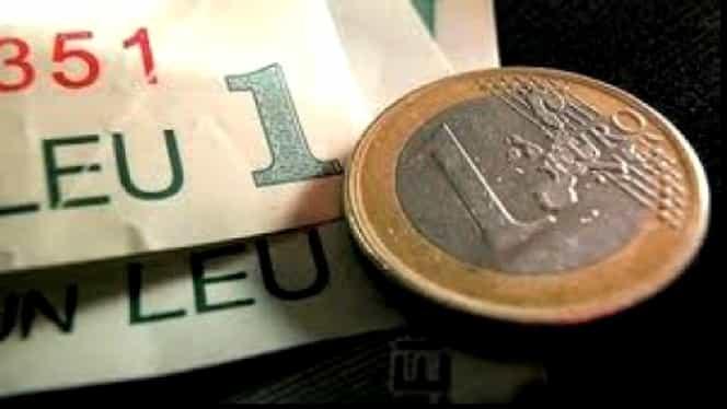 CURS BNR. FRANCUL atinge un nou MINIM, EURO şi aurul se scumpesc