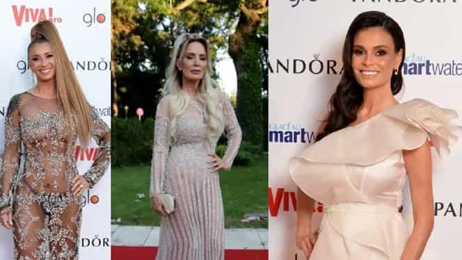 Cum s-au îmbrăcat Anamaria Prodan, Oana Roman, Anca Serea și Daniela Gyorfi la petrecerea Viva FOTO