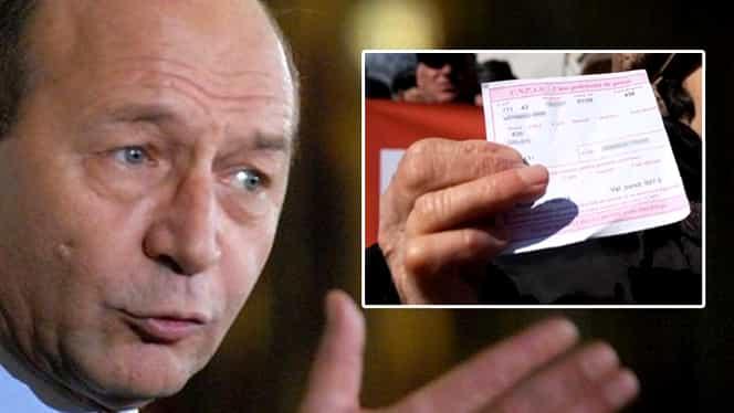 Traian Băsescu, mesaj dur pe tema pensiilor speciale